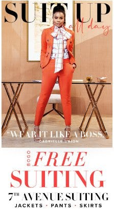 7th Avenue Suiting BOGO Free from New York & Company