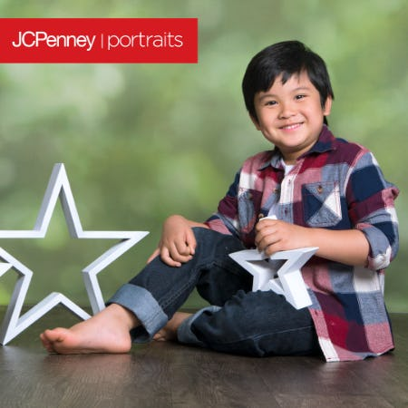 Red, White & You Photography Event from JCPenney Portraits