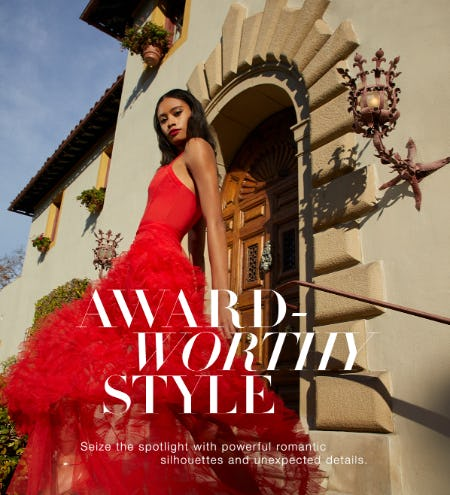 Award-Worthy Gown Styles from BCBG
