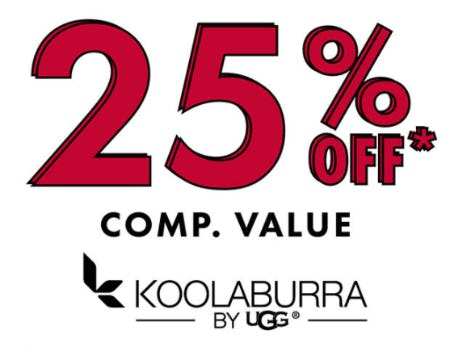 25% Off Comp. Value on Koolaburra by UGG from DSW Shoes