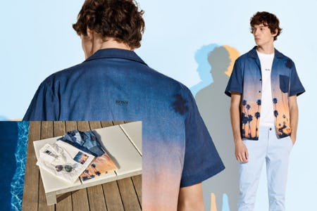 Just in: Summer is Here from Hugo Boss