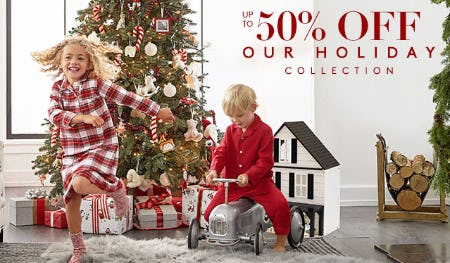 Up to 50% Off on Our Holiday Collection