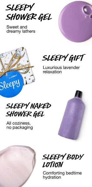 Sleepy Must-Haves from LUSH