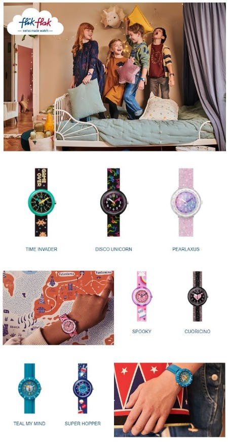 Latest Models for Kids: Unleash your IMAGINATION from Swatch