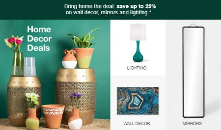 Up to 25% Off Home Decor Deals from Target