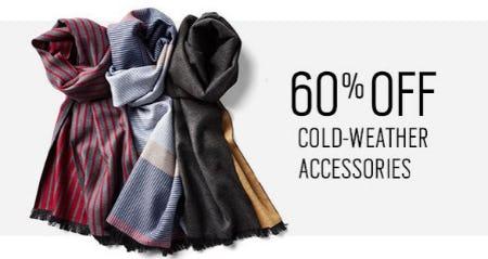 60% Off Cold-Weather Accessories from Men's Wearhouse and Tux