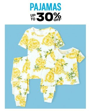 Pajamas up to 30% Off from The Children's Place