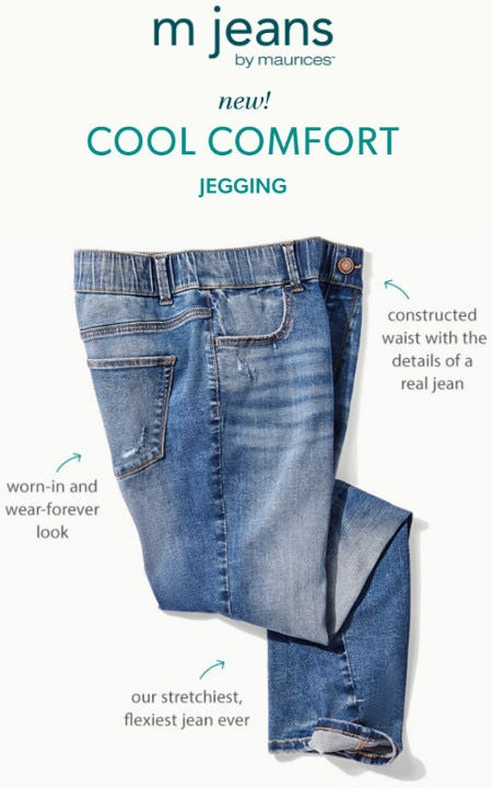 The New Cool Comfort Jegging from maurices