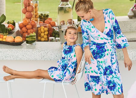 Peonies + Sweet Peas Print Pairing from Lilly Pulitzer