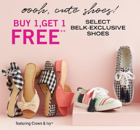 BOGO Free Shoes