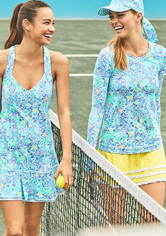Major Tennis Styles from Lilly Pulitzer