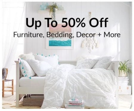 Up to 50% Off Furniture, Bedding, Decor & More from Pb Teen