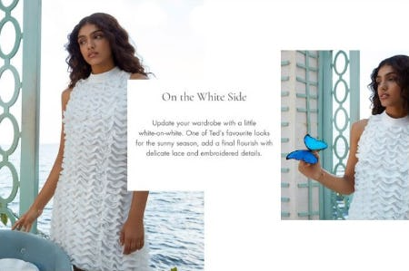 Ted's Summer Whites from Ted Baker London