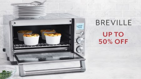 Up to 50% Off Breville from Sur La Table