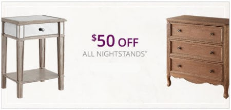 sale at pier 1 imports 50 off all nightstands