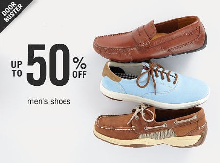 Up to 50% Off Men's Shoes from Belk