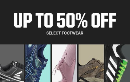 Up to 50% Off Select Footwear from Dick's Sporting Goods