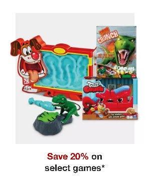 Save 20% on Select Games