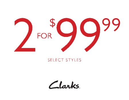 2 PAIRS FOR $99.99!