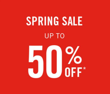 Up to 50% Off Spring Sale from Abercrombie & Fitch