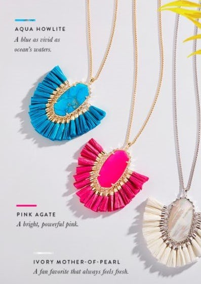 Colors that Are Trending for Summer from Kendra Scott