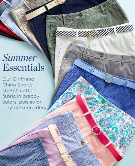 Our Girlfriend Chino Shorts from Talbots