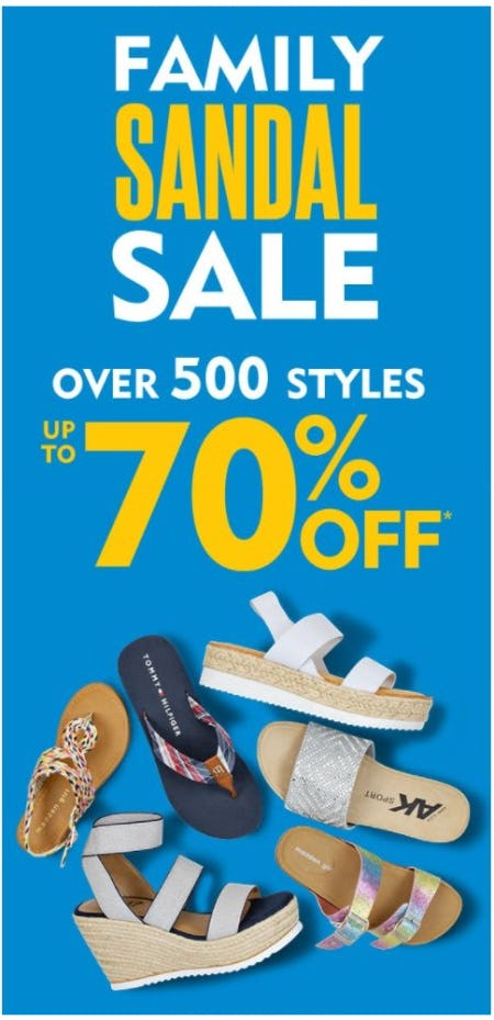 Family Sandal Sale: Up to 70% Off