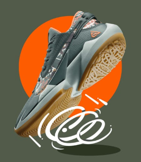 Giannis's Fresh Take on Camo from Nike