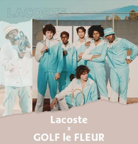 Lacoste x GOLF le FLEUR from Lacoste