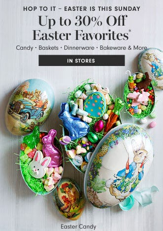 Up to 30% Off Easter Favorites