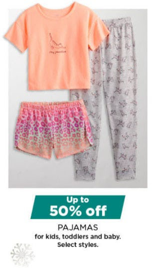 Up to 50% Off Pajamas from Kohl's