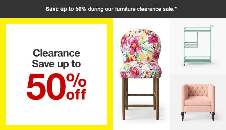 Up to 50% Off Clearance