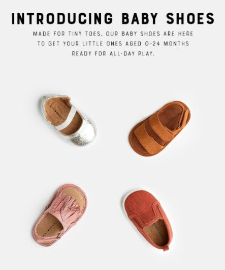Shop Our Baby Shoes from Lucky Brand Jeans