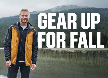 Gear Up For Fall from Dick's Sporting Goods