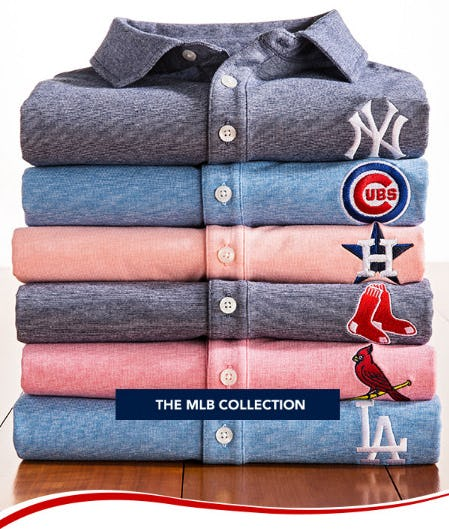 The MLB Collection from vineyard vines