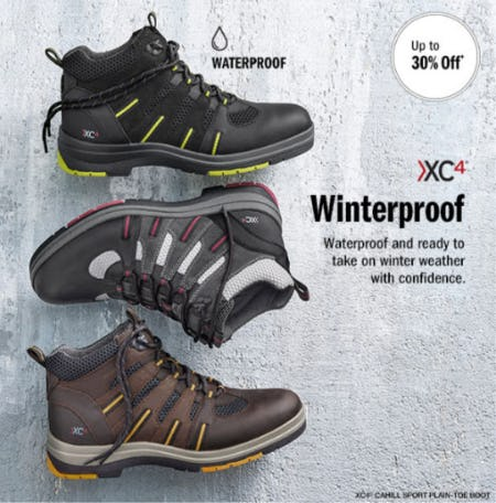 Up to 30% Off XC4 Winterproof Boots