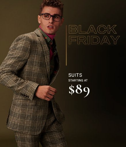 Suits Starting at $89