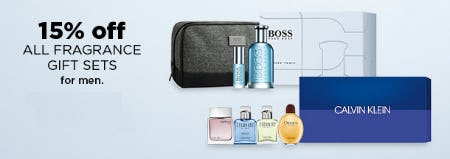 15% Off All Fragrance Gift Sets