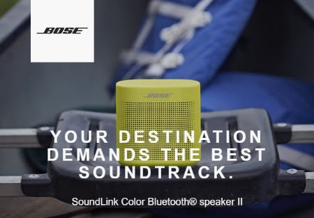SoundLink Color Bluetooth® Speaker II from Bose