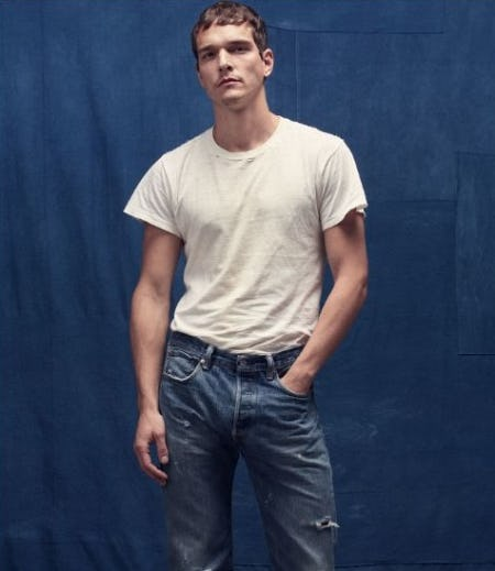 Classic Tees, Levi's Jeans from The Levi's Store