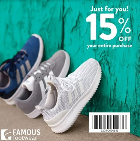 Save 15% on Your Entire Purchase