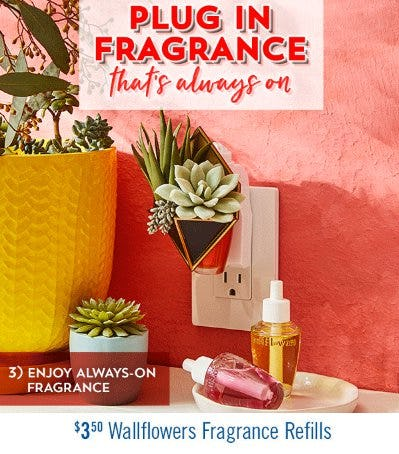 $3.50 Wallflowers Fragrance Refills from Bath & Body Works