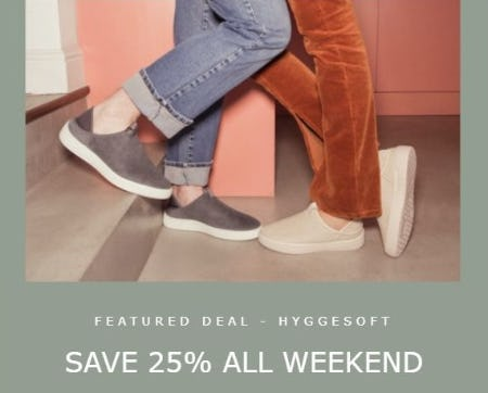 25% Off All Weekend from ECCO