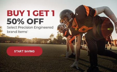 BOGO 50% Off Select Precision Engineered Brand Items from Vitamin World