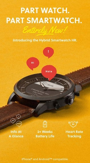 Introducing Hybrid HR from Fossil