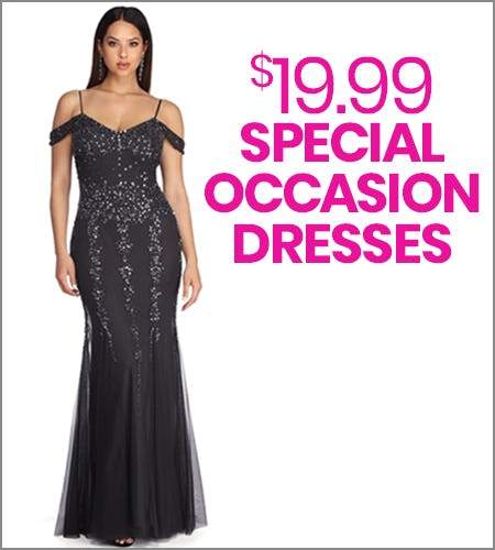 $19.99 Special Occasion Dresses from Windsor
