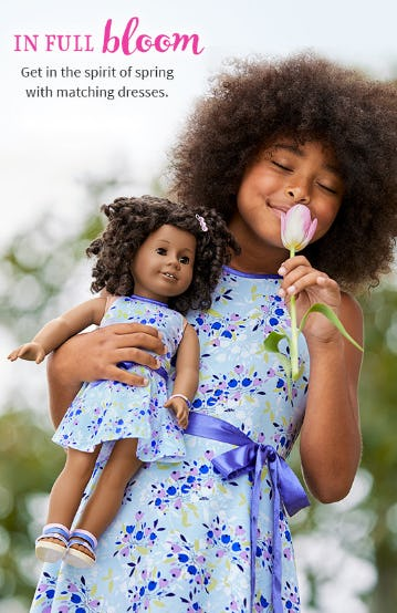 New Spring Dresses from American Girl