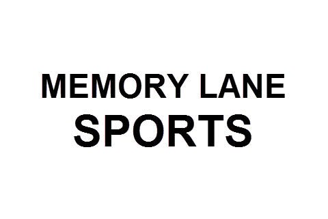 Memory Lane Sports                       Logo