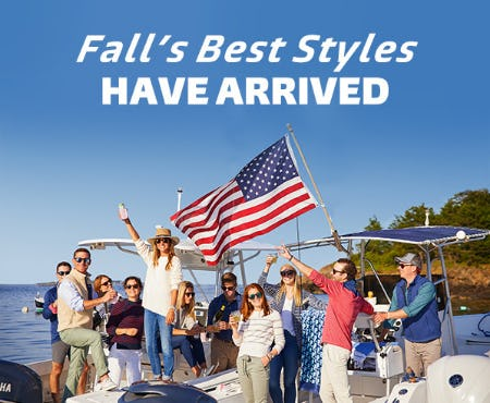 Cruise Into New Fall Styles