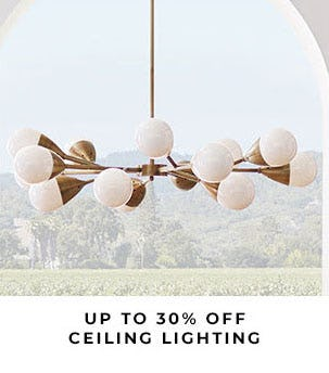 Up to 30% Off Ceiling Lighting